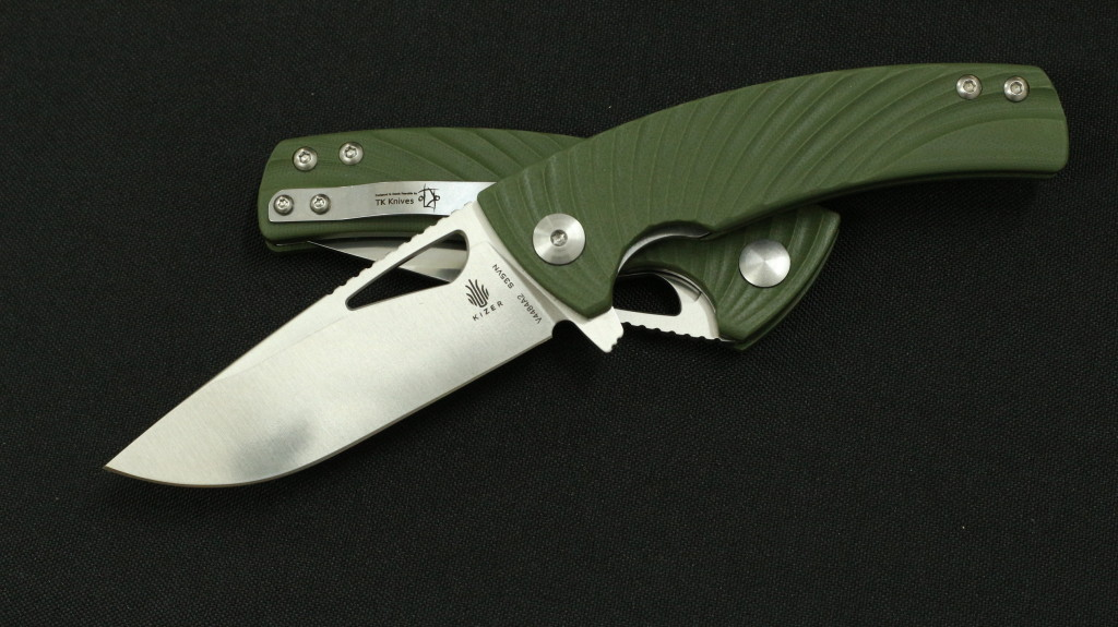 TK Knives designed flagship model Kyre done exceptionally well by Kizer